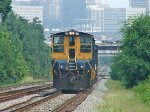 CSX 1216 End of EB Local
